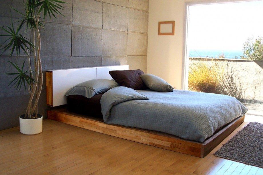 Cama baja para un dormitorio tnico Imgenes y fotos