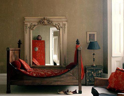 Cama para una habitaci n rabe im genes y fotos - Decoracion arabe interiores ...