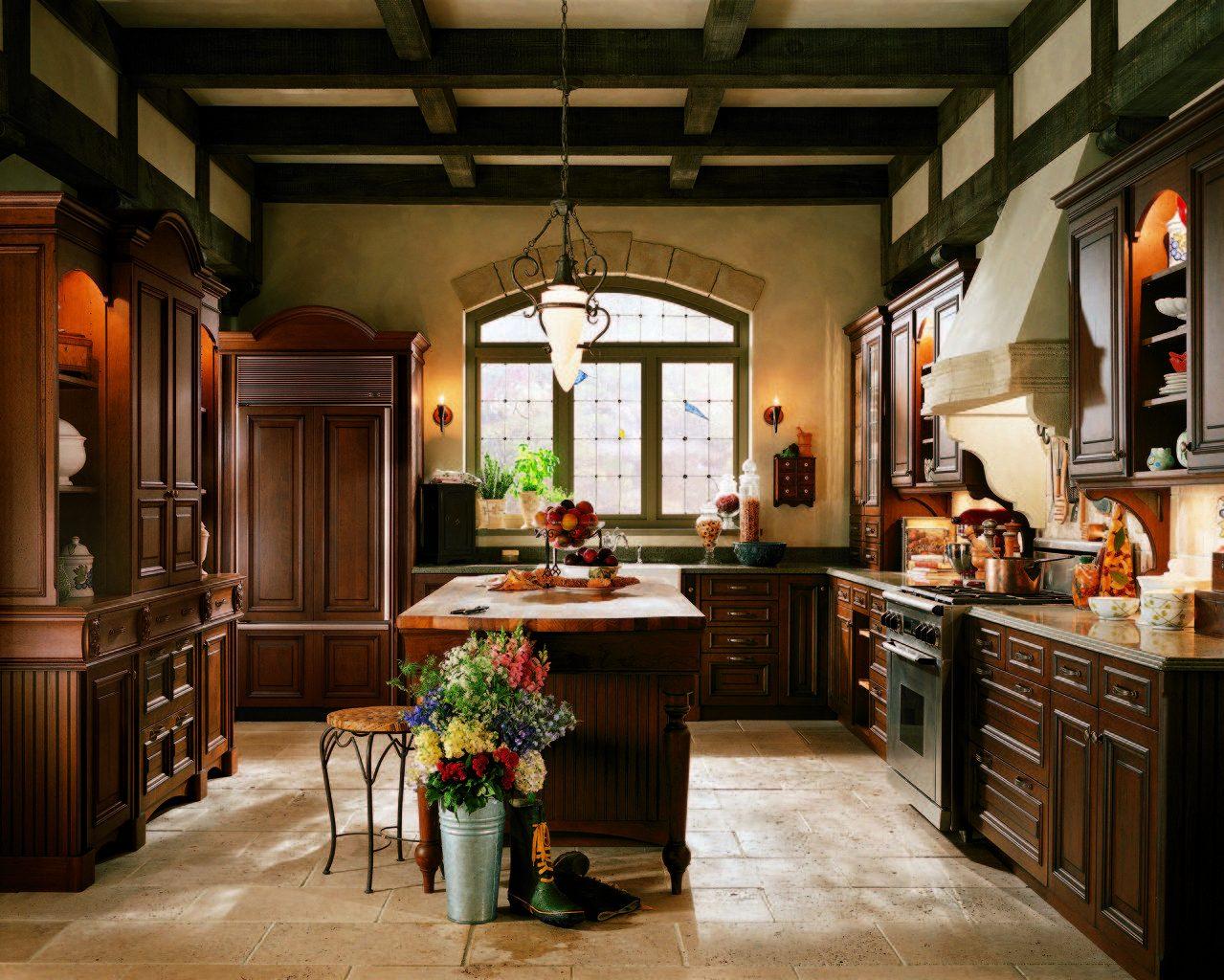 Cocina de estilo ingl s im genes y fotos for Decoracion de interiores estilo clasico