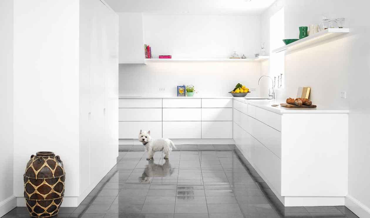 cocina de estilo minimalista