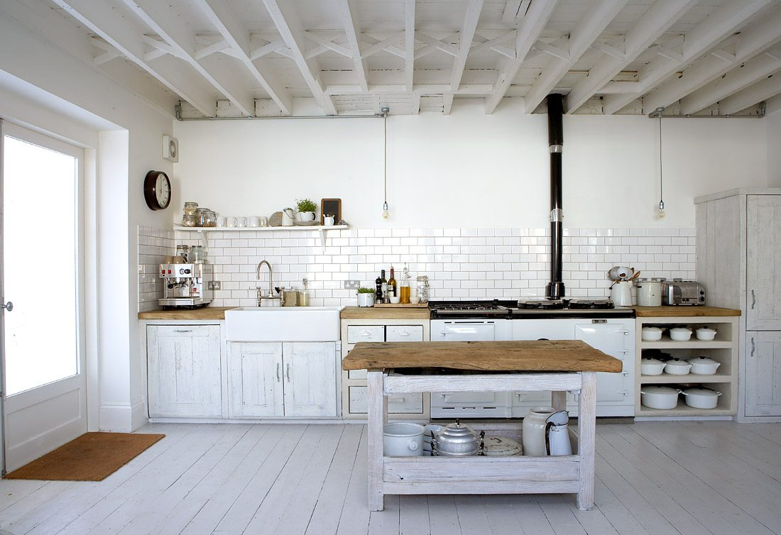 Lujo Estilo Casa De Campo Fotos De La Cocina Galería - Ideas de ...