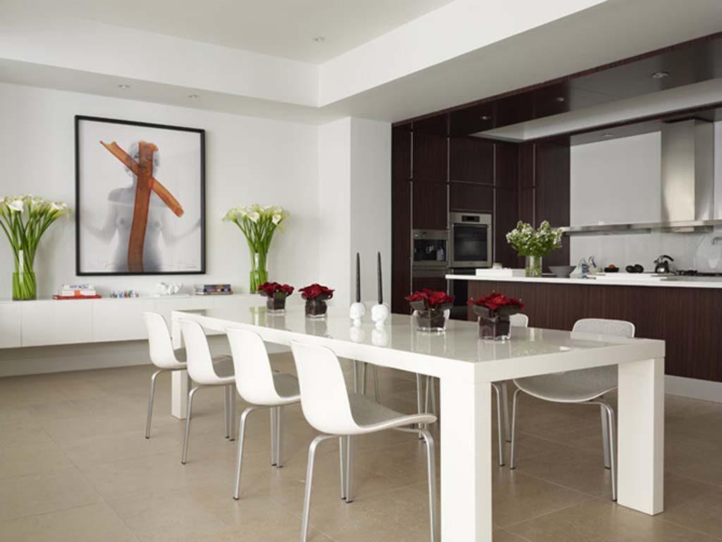 Cocina office minimalista im genes y fotos - Bandejas decoracion salon ...