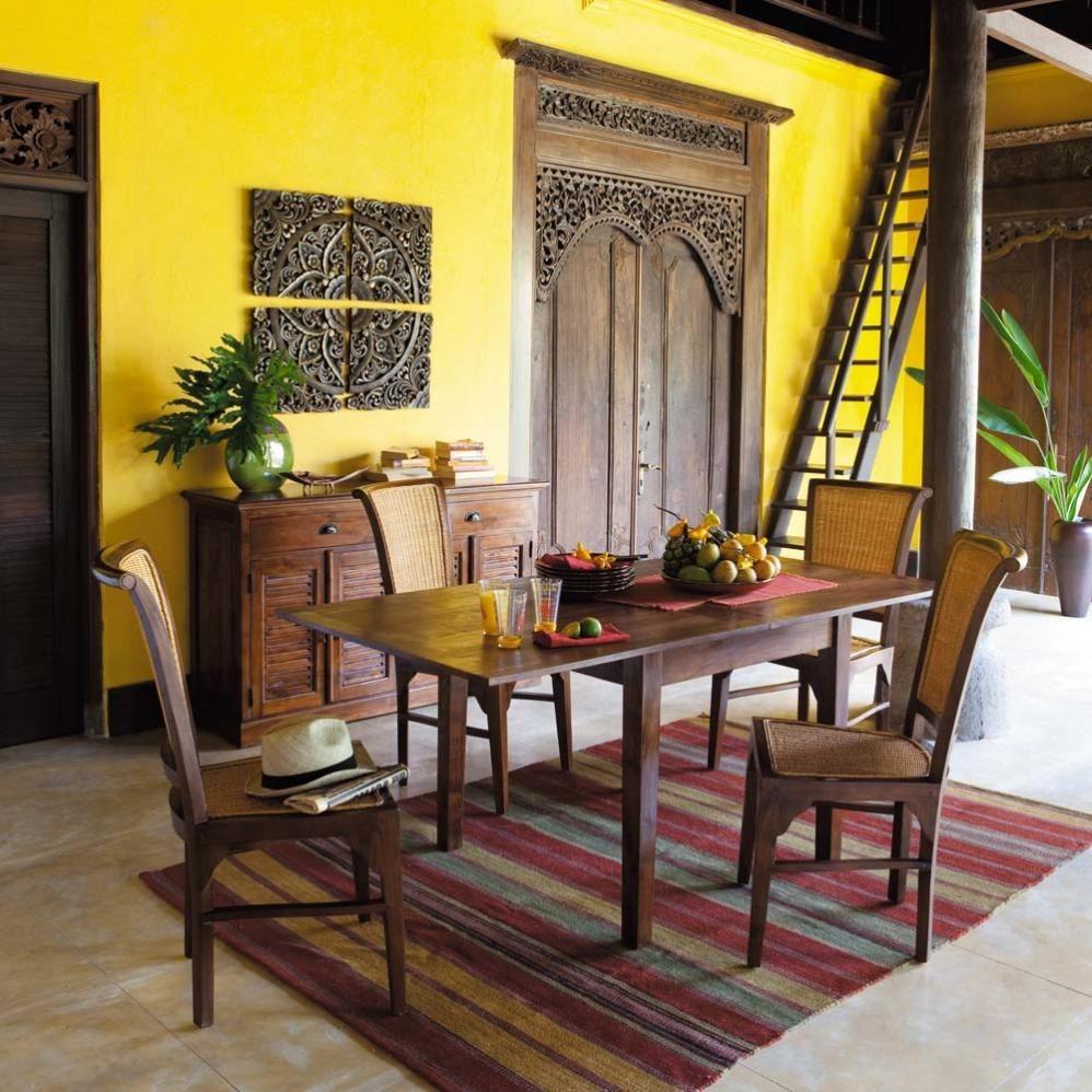 Galer a de im genes decoraci n colonial - Salones estilo colonial moderno ...