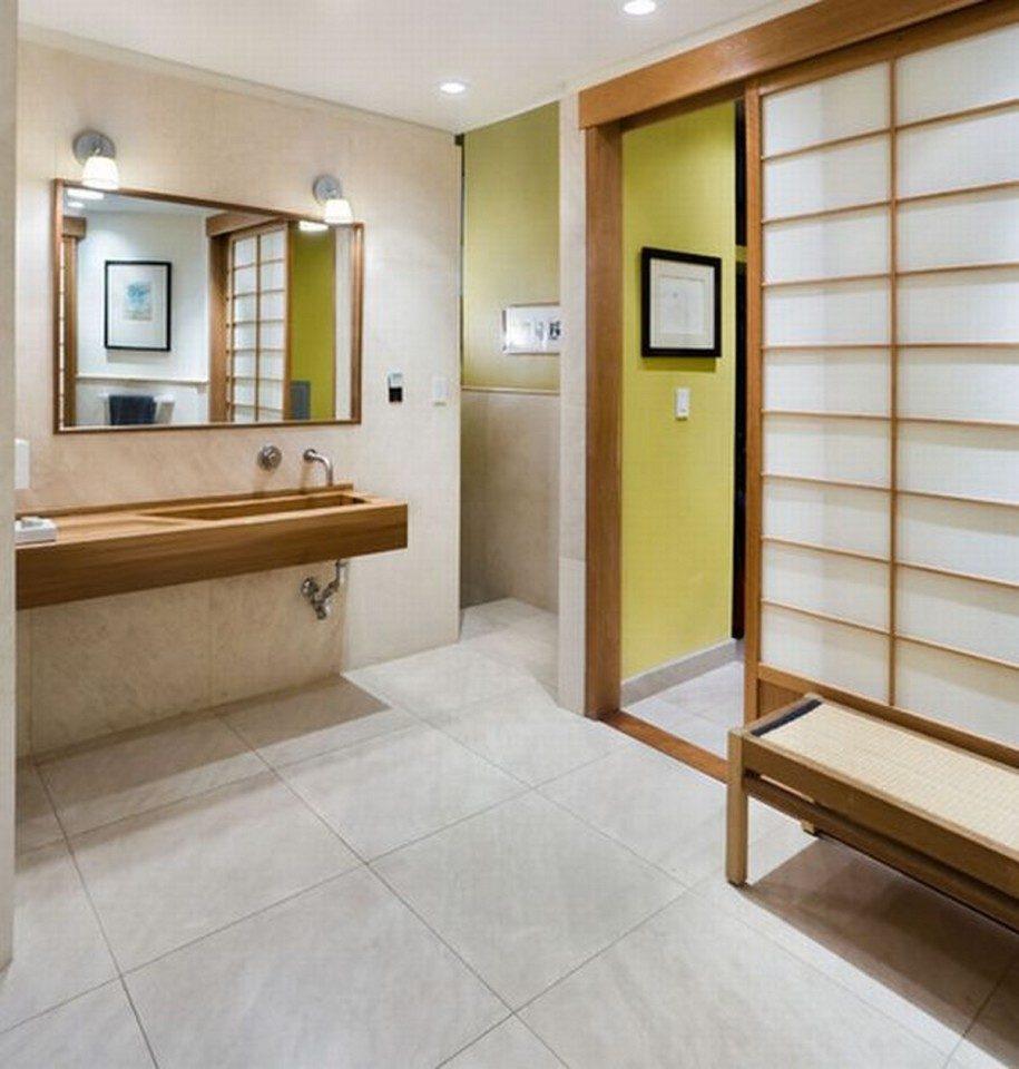 Cuarto de ba o de estilo japon s im genes y fotos - Habitaciones estilo japones ...