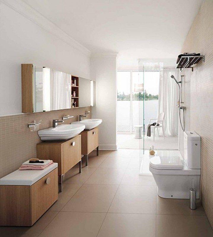 cuarto de ba o de estilo n rdico im genes y fotos. Black Bedroom Furniture Sets. Home Design Ideas