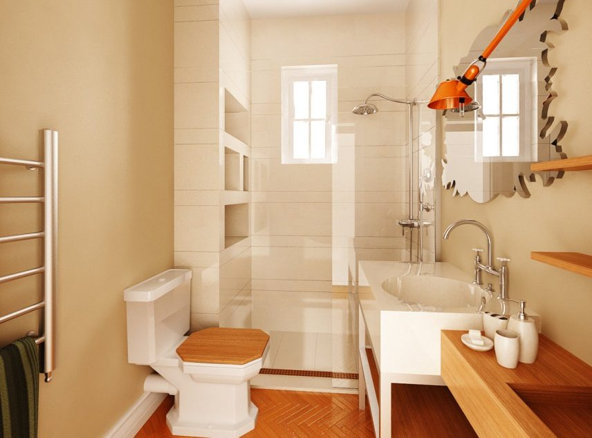 Beauty Of Rustic Bathroom Ideas And Models: Cuarto De Baño Mediterráneo :: Imágenes Y Fotos