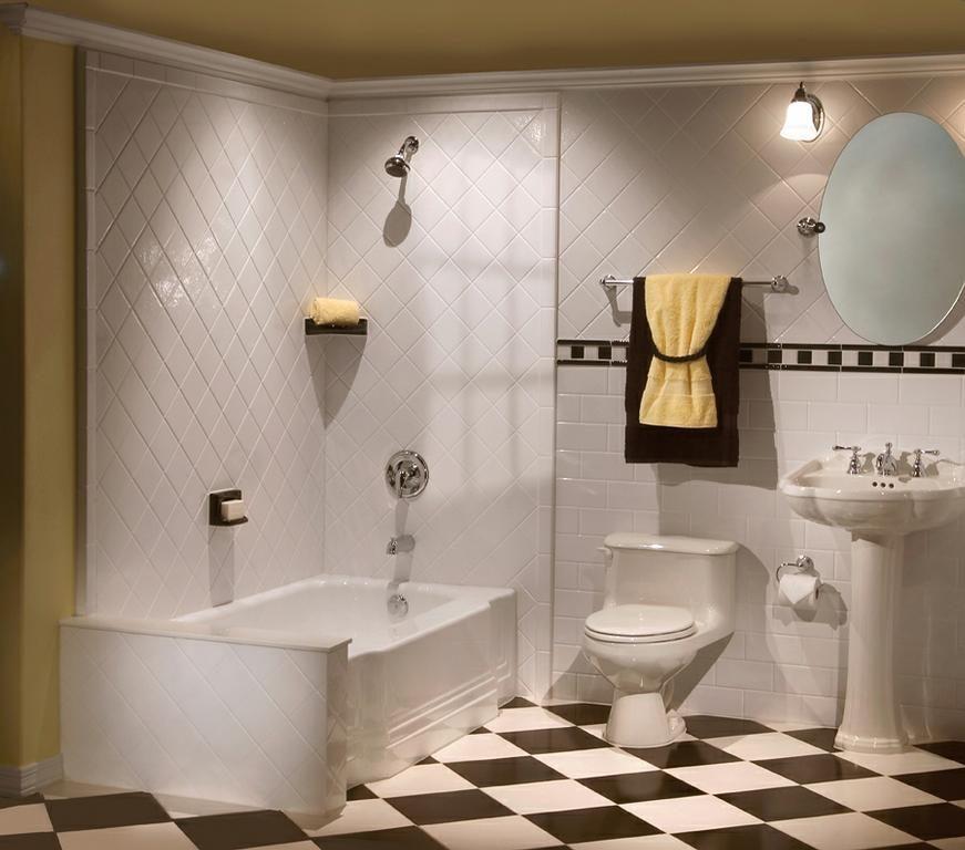 Cuarto de ba o retro im genes y fotos - Accesorios cuarto de bano ...