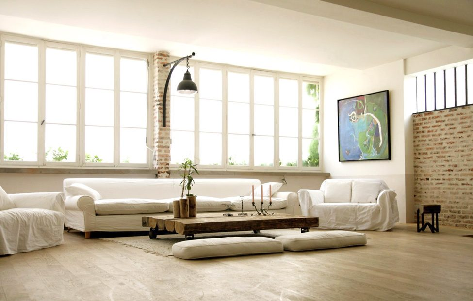 Loft minimalista im genes y fotos for Como decorar una casa minimalista
