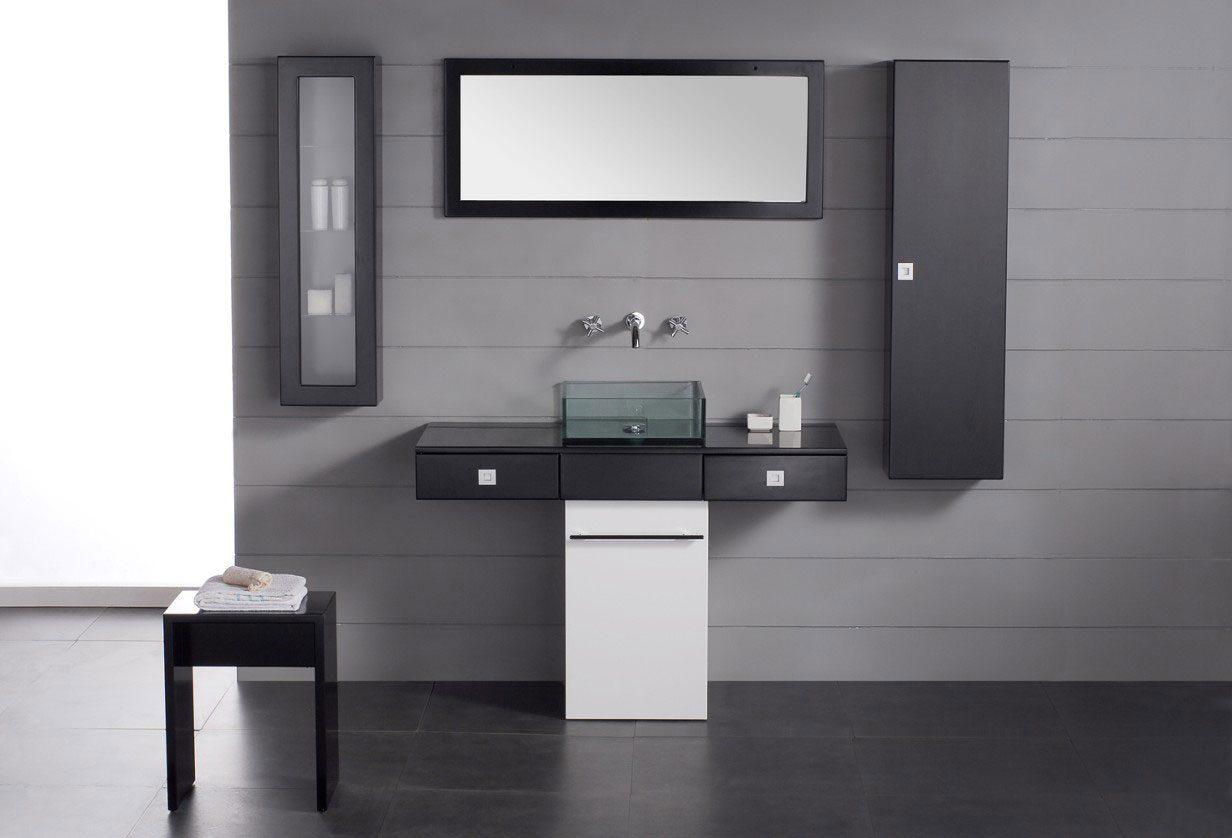 Muebles de ba o minimalistas im genes y fotos for Decoracion muebles de bano