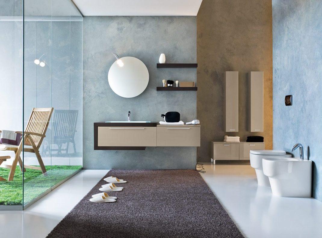 Muebles de ba o modernos im genes y fotos for Modelos de muebles para banos modernos