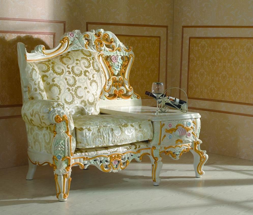 Muebles de estilo barroco im genes y fotos - Muebles estilo neoclasico ...
