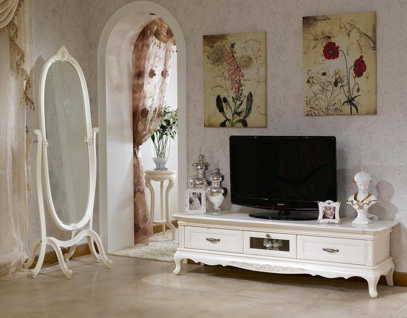 Muebles de estilo franc s im genes y fotos for Muebles estilo country