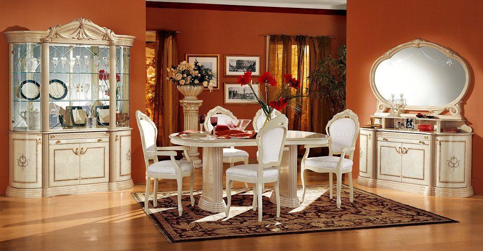 Muebles para un sal n cl sico im genes y fotos for Decoracion de interiores estilo clasico