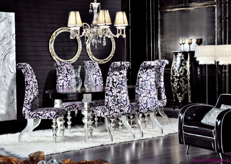 Sal n comedor barroco im genes y fotos for Gothic dining room design ideas