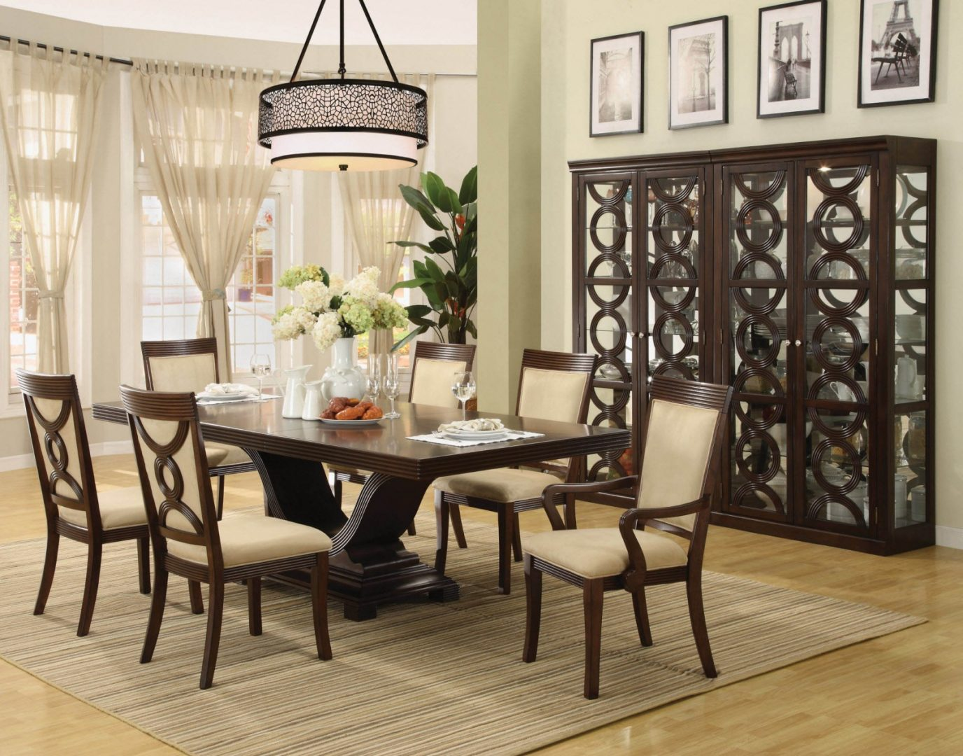 Formal Dining Room Table Centerpieces 1376 x 1080