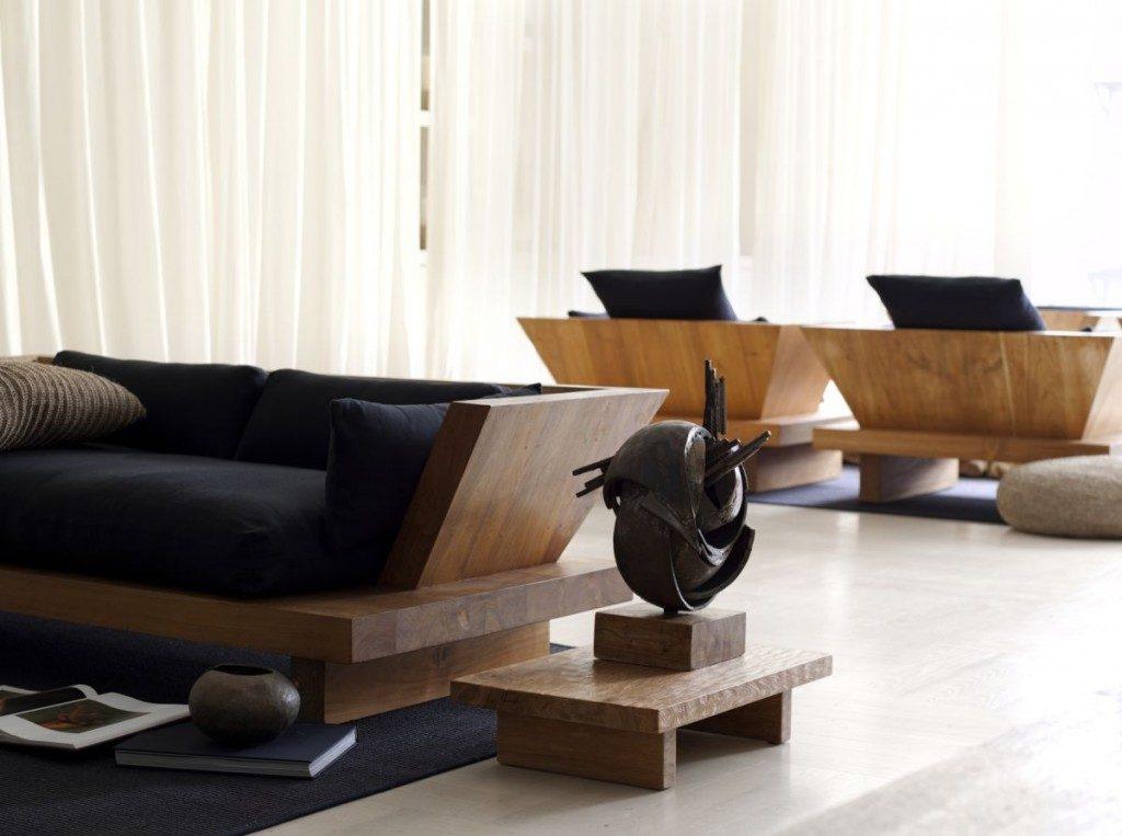 Sof s de estilo zen im genes y fotos - Sofas estilo colonial ...